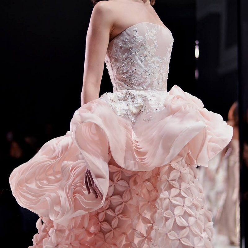 Romance in shades of pink Ralph & Russo