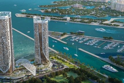 The design of the next Rosewood hotel is based on Arabian Gulf's coral formations