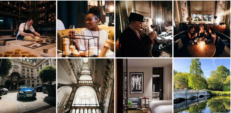 Rosewood London Collage 2019