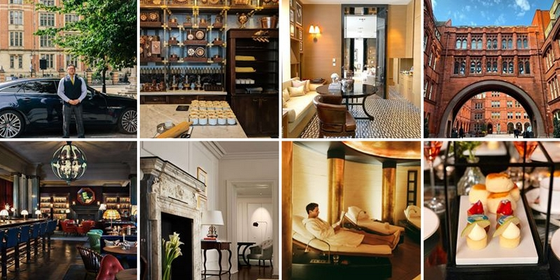Rosewood London Collage