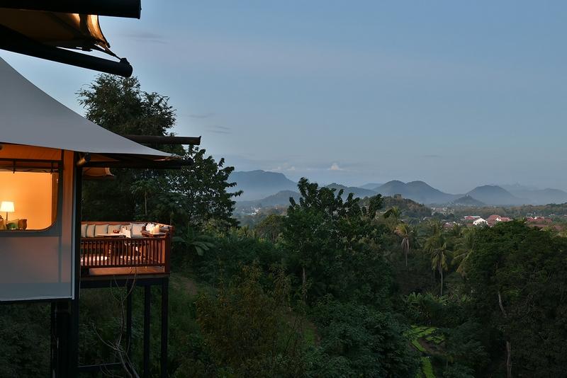 Rosewood Luang Prabang Laos hilltop tents