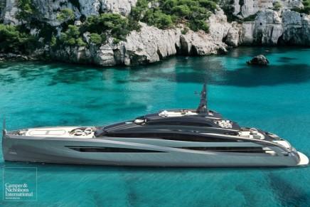 Can you imagine Infinity?  Italian shipyard Rossinavi does