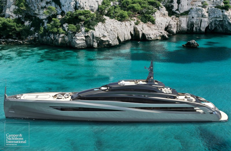 Rossinavi-built Infinity series, a brand new concept in superyachts