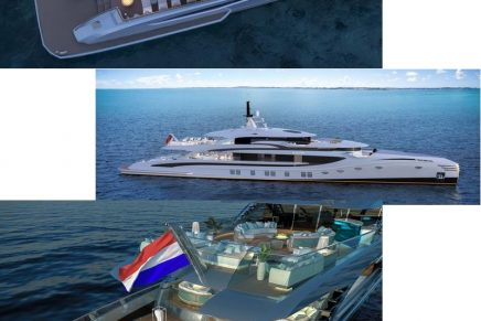 Royal Huisman's Phi is by far the longest motoryacht in the sub-500GT category