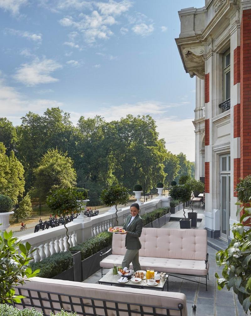 Royal Suite - Terace - Mandarin Oriental Hyde Park, London 2019