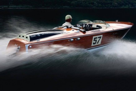New Runabouts watches are paying homage to the graceful Riva boats of the roaring 20's