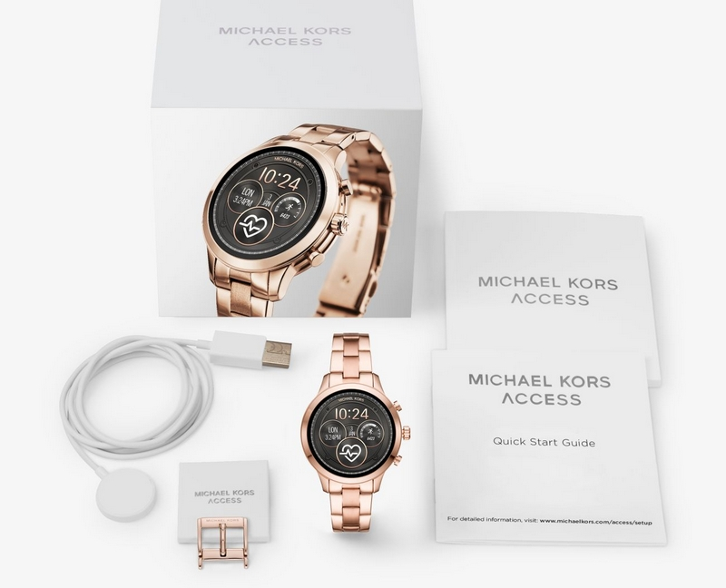 Runway Rose Gold - Michael Kors' iconic Runway watch returns as an innovative smartwatch