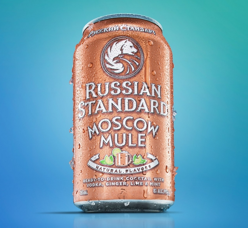 Russian Standard Launched Vodka-Based Ready-To-Drink Moscow Mule