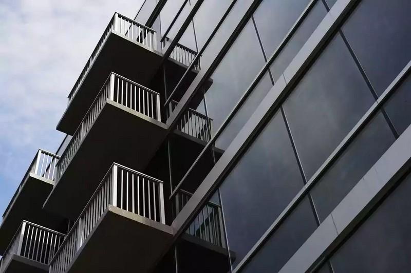 SBE Mondrian Park Avenue Hotel NY City facade details