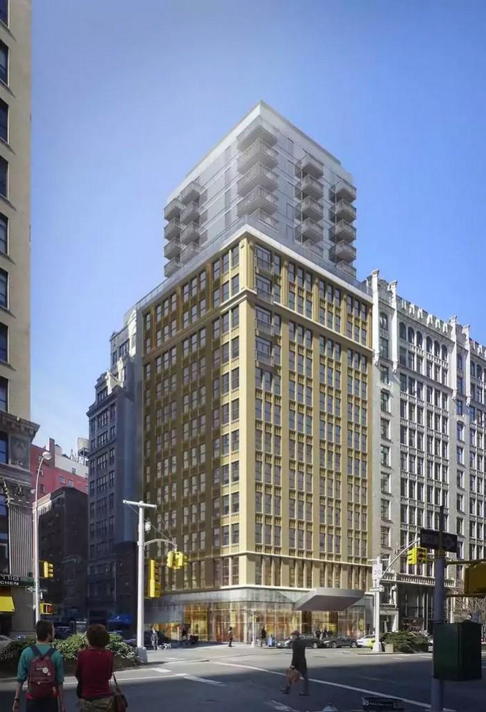 SBE Mondrian Park Avenue Hotel NY City renderings