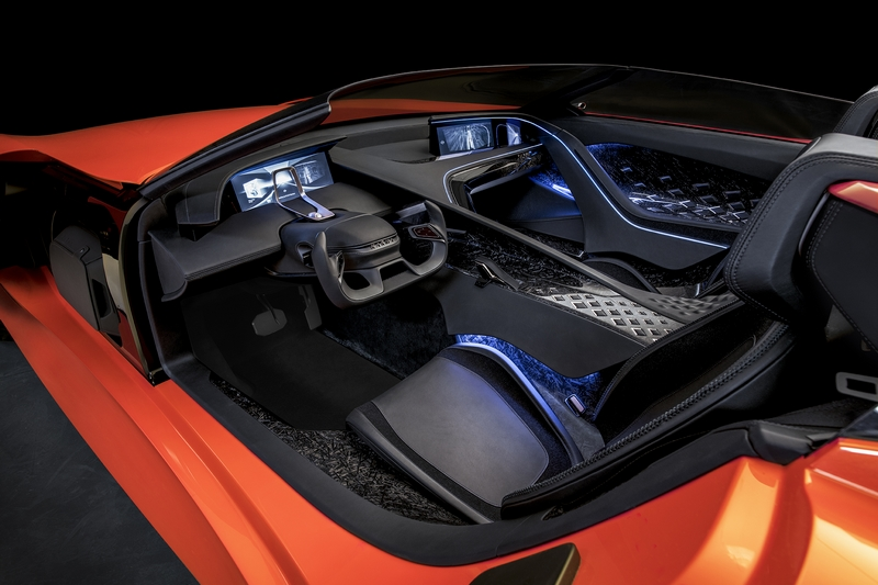SC1 Concept Car by Southern California-based luxury electric automaker Karma Automotive