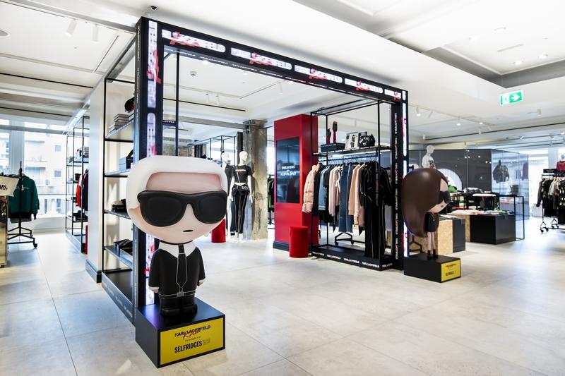 SELFRIDGES Karl x Kaia in the Designer Studio September 2018 credit Katy Davies 01
