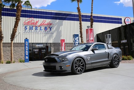 Extremely rare Signature Edition Ford Shelby GT500 Super Snake commemorates the sunset of an important era