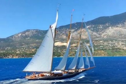 Sensational classic superyacht from the Golden Age of Yachting now for charter