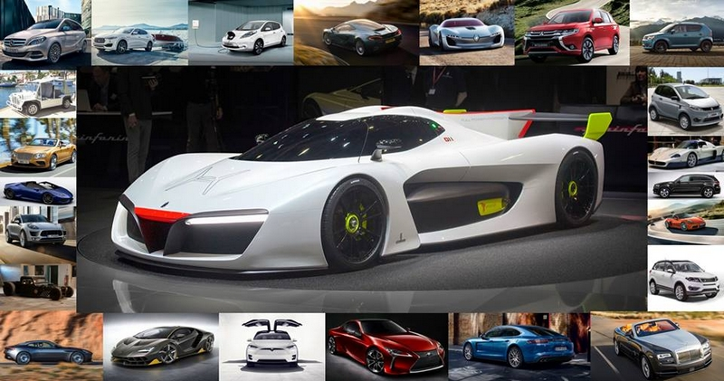SIAM exhibiting cars 2017 - 1st edition