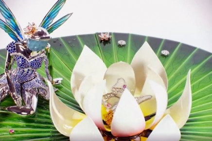 Van Cleef & Arpels presents its first Extraordinary Object – The Automate Fée Ondine