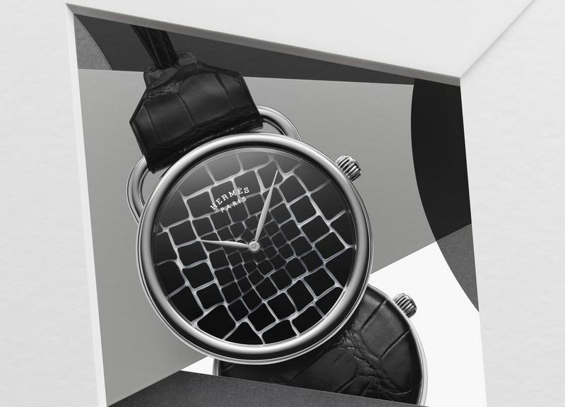 SIHH 2018 - Hermes new watches - Hermès Arceau Pocket Millefiori