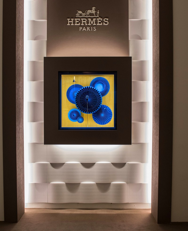 SIHH 2018 - Hermes pavilion once again accentuates the Hermes approach to time-kinetic art