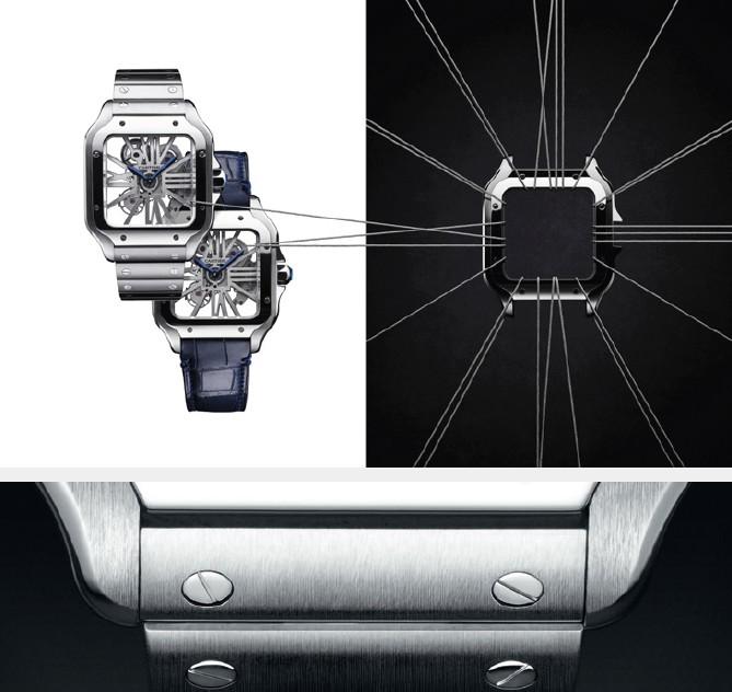 SIHH 2018 - New Cartier Santos de Cartier watch,