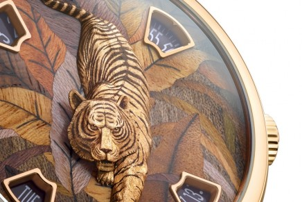 Tigers and pandas spring into action for new Vacheron Constantin Les Cabinotiers Mécaniques Sauvages