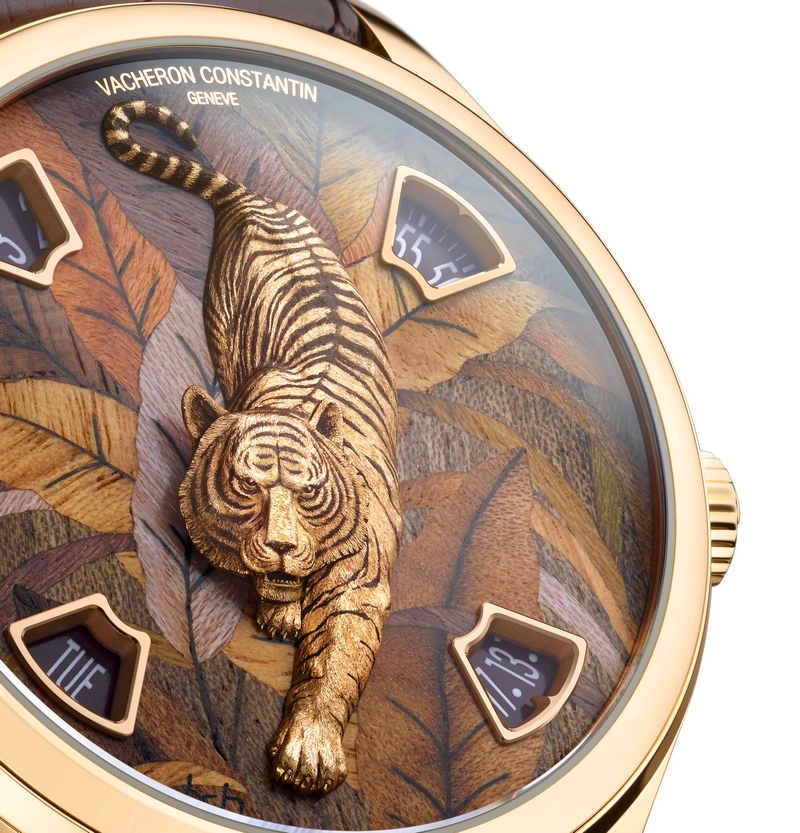 SIHH 2019 - NEW Les Cabinotiers Mécaniques Sauvages watches - Tiger II details