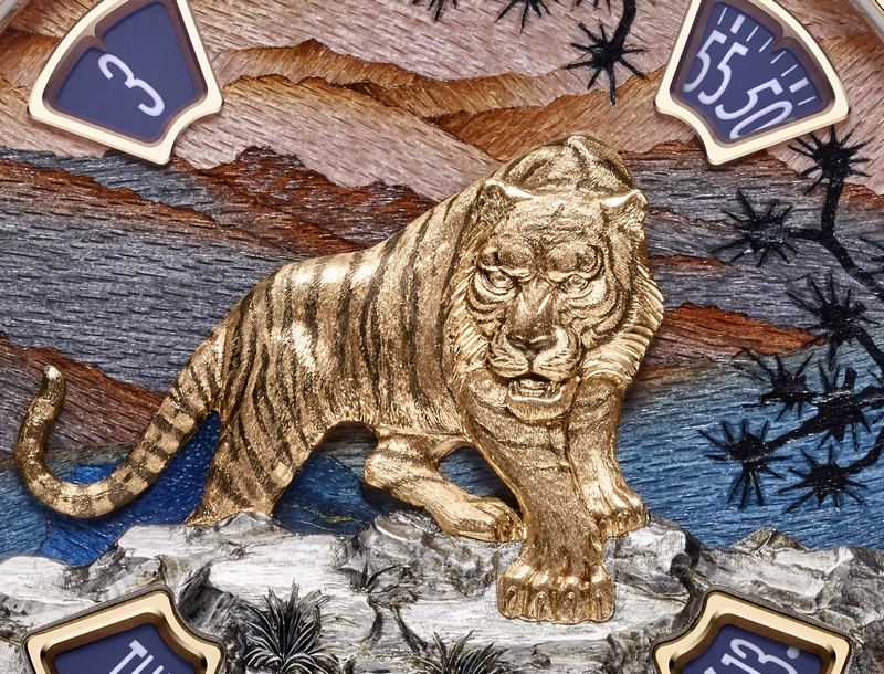 SIHH 2019 - NEW Les Cabinotiers Mécaniques Sauvages watches - Tiger III blue 2019-