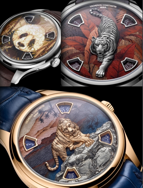 SIHH 2019 - NEW Les Cabinotiers Mécaniques Sauvages watches - Tiger III blue 2019--