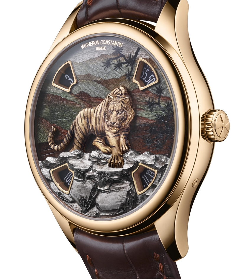 SIHH 2019 - NEW Les Cabinotiers Mécaniques Sauvages watches - Tiger