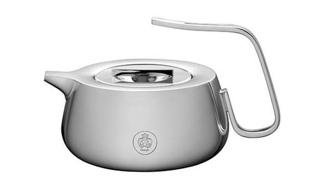 SILVER TIME teapot