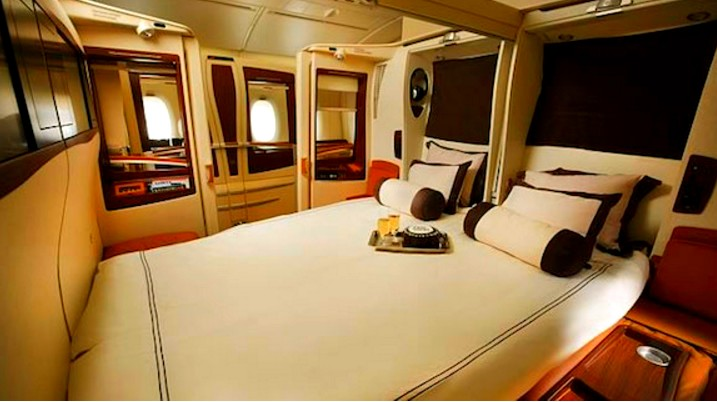 SINGAPORE AIRLINE SUITES CLASS TO FRANKFURT FOR 107,500 MILES