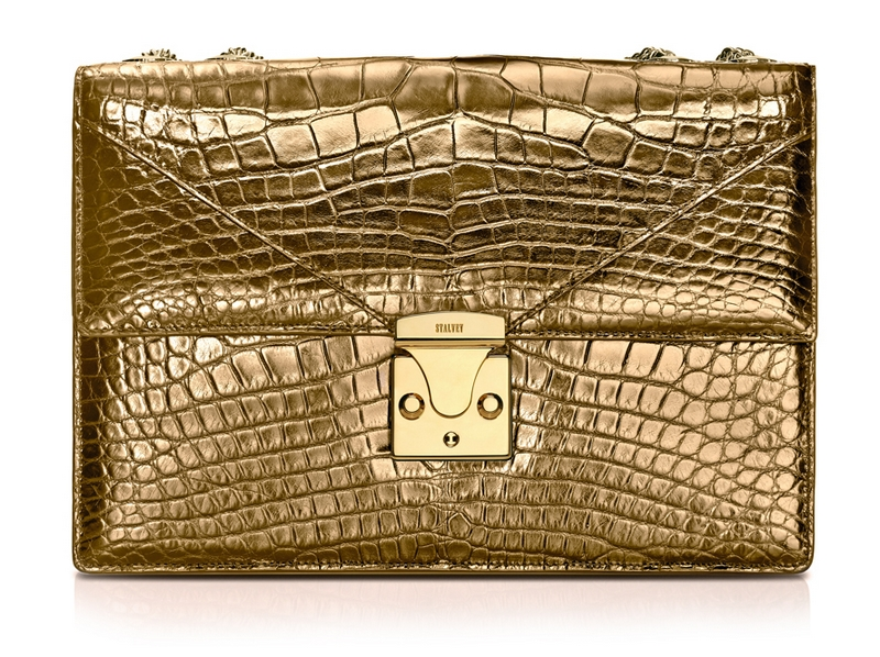STALVEY 24kt gold bag capsule collection