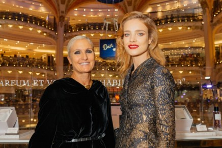 La Constellation Dior taking over Galeries Lafayette