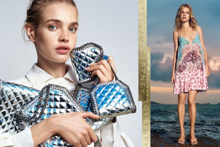 Stella McCartney captures the ease of summer with Natalia Vodianova