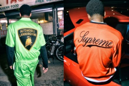 Supreme x Lamborghini for Spring Summer 2020