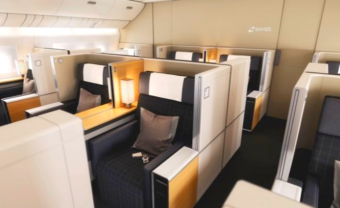 SWISS AIR FIRST CLASS TO EUROPE ROUND-TRIP FOR 55,000-125,000 MILES