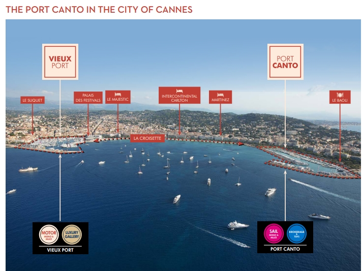 Sailing Zone 2019- Cannes Yachting Festival 2019 Port Canto