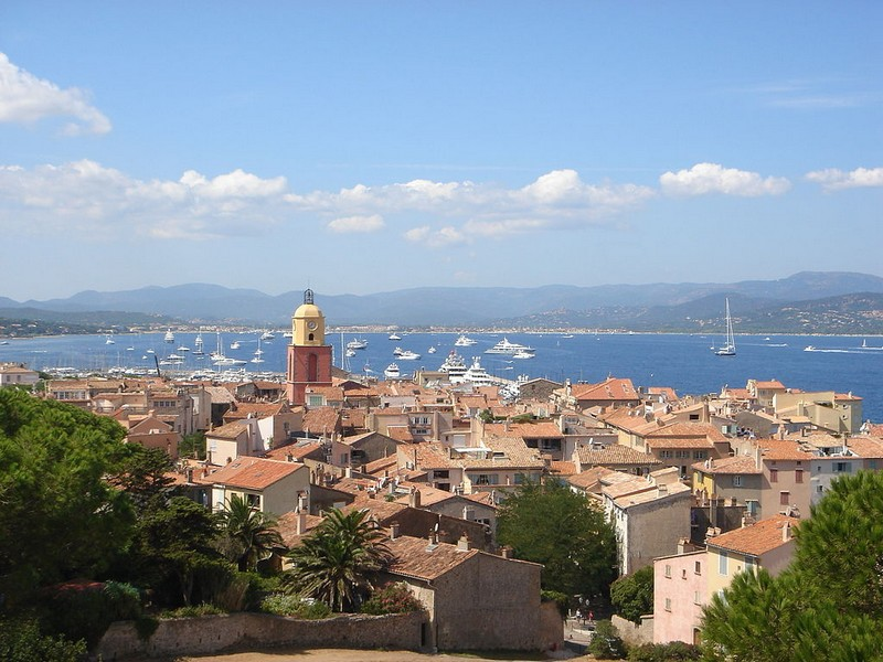 Saint-Tropez view