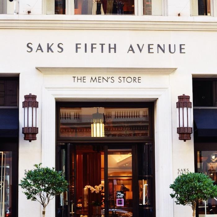 Saks Fifth Avenue Store: Saks Fifth Avenue Opens Saks Downtown Men's Luxury Store