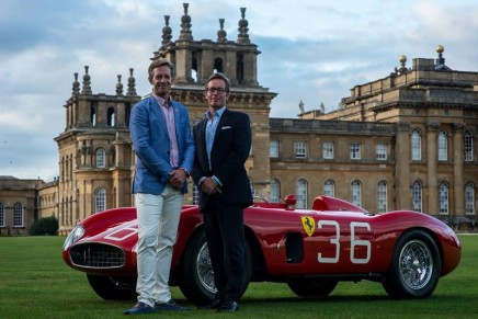 A Concours d'Elégance in the truest sense: Tribute to 70 Years of Ferrari @ 2017 Salon Privé