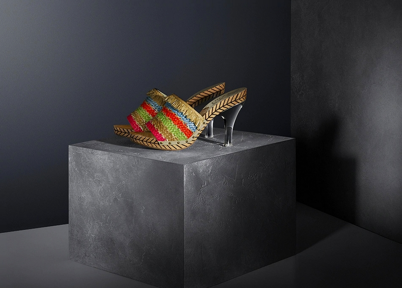 Salvatore Ferragamo The Sustainable Thinking exhibition Shoes