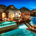 Sandals Royal over the water luxury suites