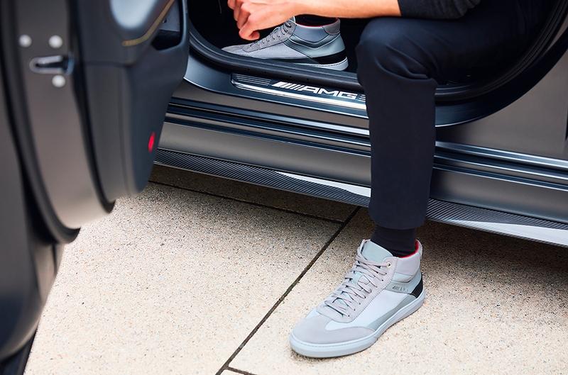 Santoni for Mercedes-Benz AMG sneker collection 2019 - 001