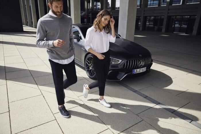 Santoni for Mercedes-Benz AMG sneker collection 2019