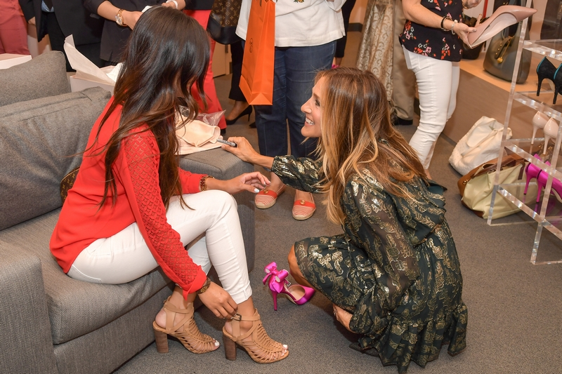 Sarah Jessica Parker opens her first West Coast boutique, SJP By Sarah Jessica Parker at Bellagio - CreditRobert Stanzione PEI