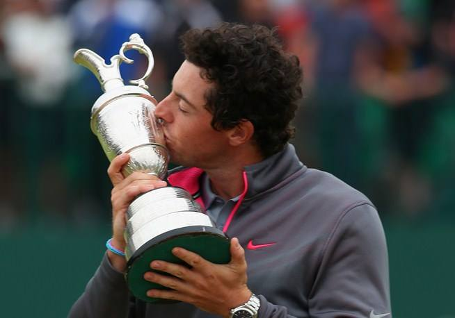 Savour the moment Rory McIlroy - the Champion Golfer of the Year