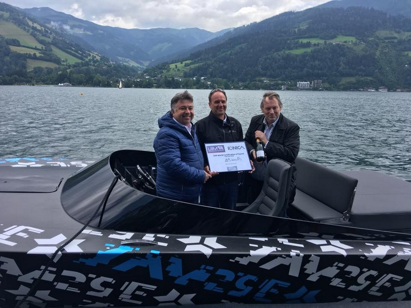 Say 29 E boot record IONICA Zell am See Kaprun
