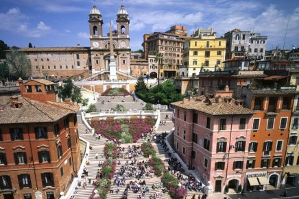 Bulgari to finance the renovation of Rome's famous Spanish Steps, the widest staircase in   Europe