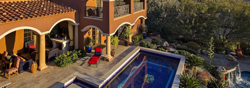 Scottsdale Estate Villa Falcone - This singularly exquisite home was built to last forever-2017