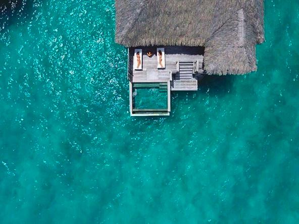 Sea-ing double Four Season Bora Bora