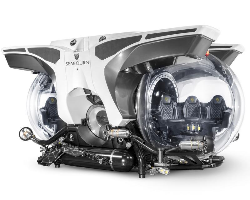 Seabourn custom submarines